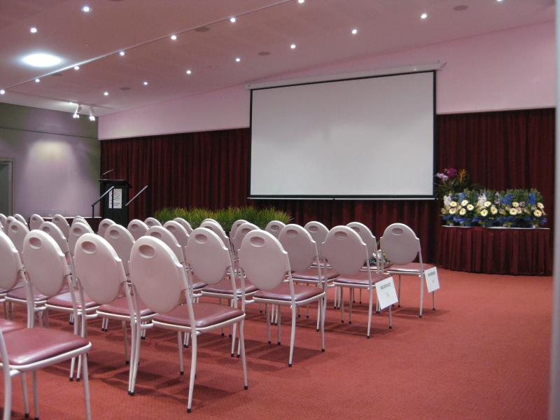 Seminar Room with projection screen