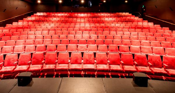 Theatre seats from stage
