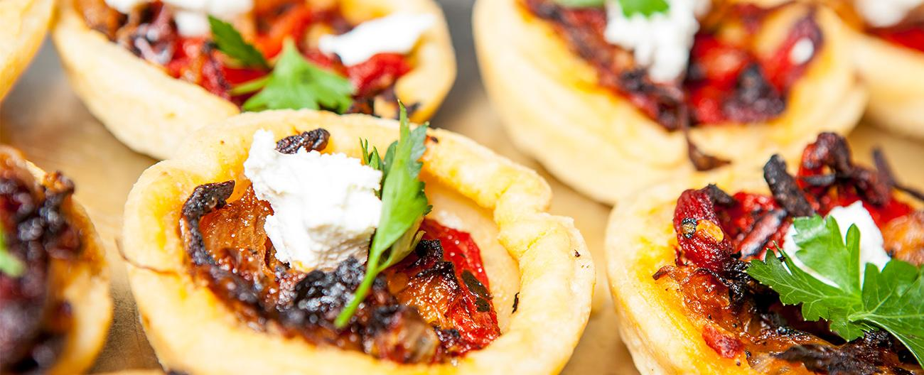 Tartlets for catering